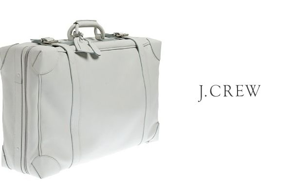 J. Crew Leather Luggage | Carriables | Pinterest | Cuero y J crew