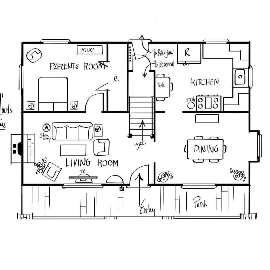 Floor plan first floor the loud house tlh theloudhouse floor plan first floor the loud house tlh theloudhouse nickelodeon malvernweather Image collections
