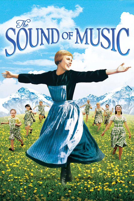 The Sound of Music: The winner of five Academy Awards, The Sound of Music will have your kids singing along with Julie Andrews and the rest of the von Trapp family.