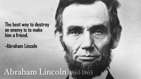 Abraham Lincoln | Famous Abraham Lincoln Quotes On Slavery .