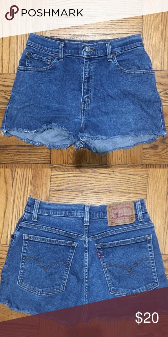levi shorts size 10