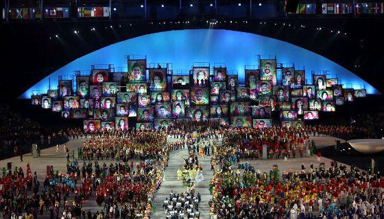 Olimpíadas. Abertura oficial Jogos Olímpicos Rio 2016 - Pesquisa Google