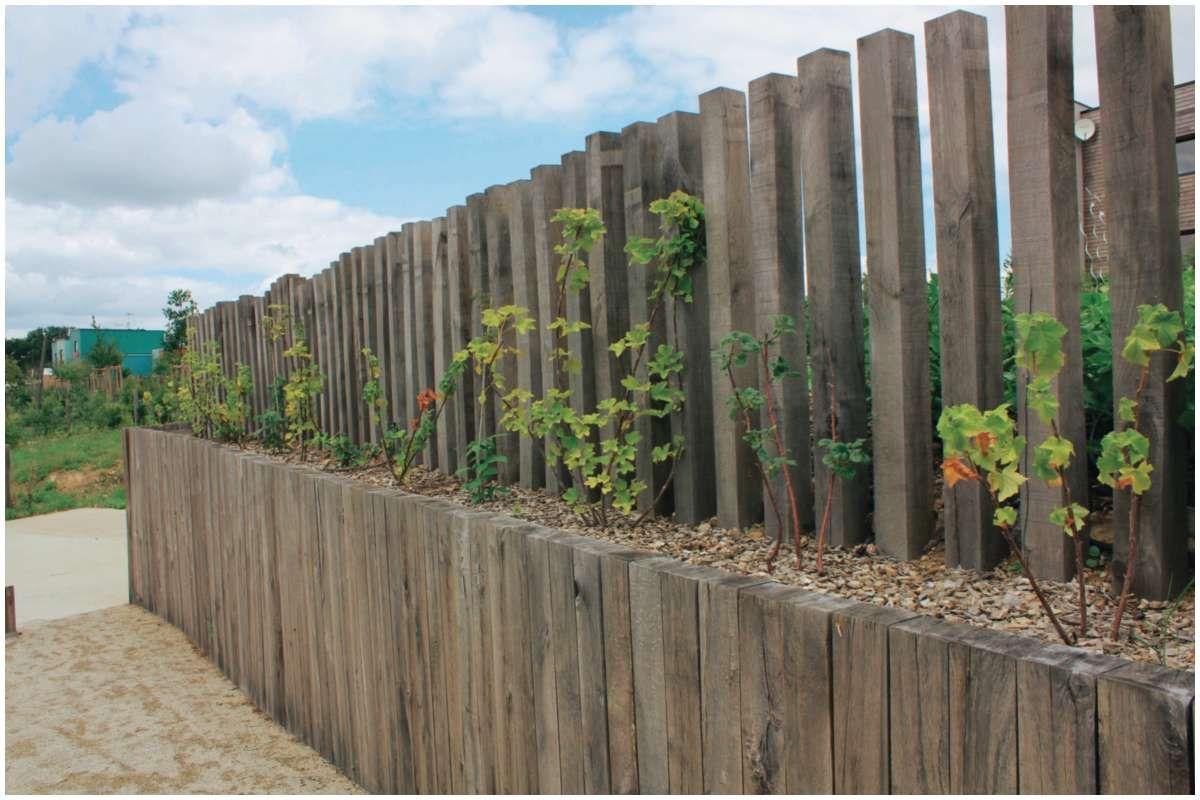 201 Bordure Ardoise Point P 2019 Traverses Jardin Bordure Ardoise Cloture Jardin Bois