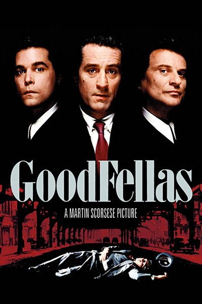 GoodFellas (1990, Martin Scorsese). Gripping, amoral - a glimpse into the real world of mafiosi, based on life of Henry Hill. (Must read his book, Wiseguy, sometime).