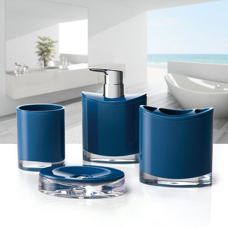 Optic 4-Piece Bathroom Accessory Set   Master Bath   Pinterest ...