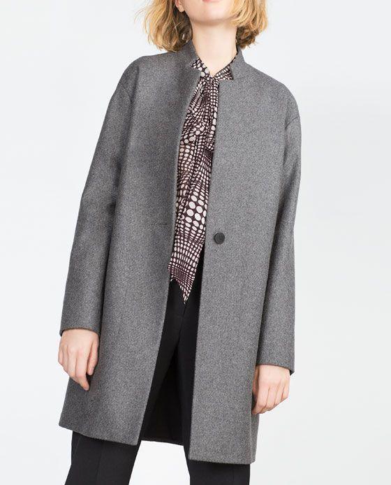 Abrigos de lana zara