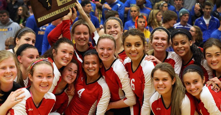 Volleyball Mother McAuley back on top with state title