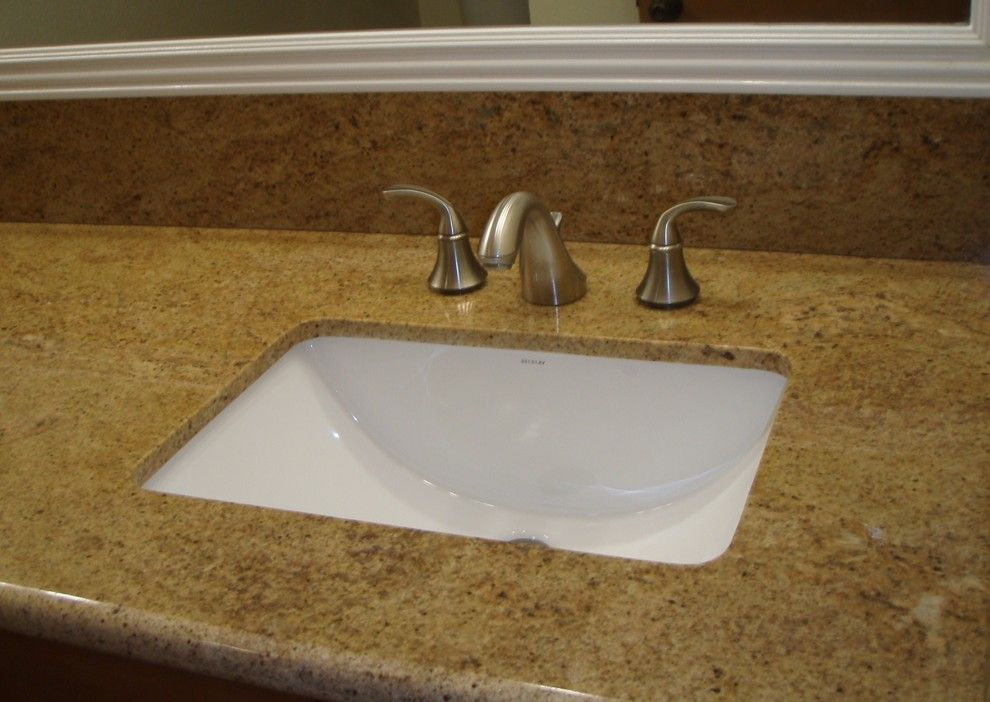 Undermount Bathroom Sink Craftsman With Candlelight Homes