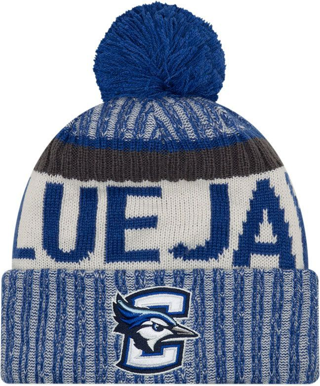 b88648779b9 New Era Men s Creighton Bluejays Blue Sport Knit Beanie