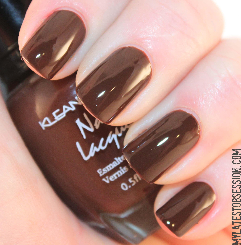 Kleancolor #52 Dark Brown | My Nail Polish Hoard | Pinterest