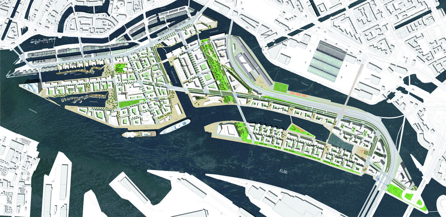 Project: Masterplan HafenCity - ASTOC Architects and Planners