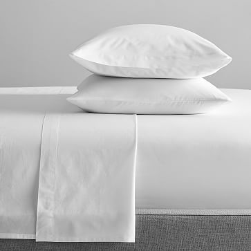 Photo of 400-Thread-Count Organic Cotton Percale Sheet Set