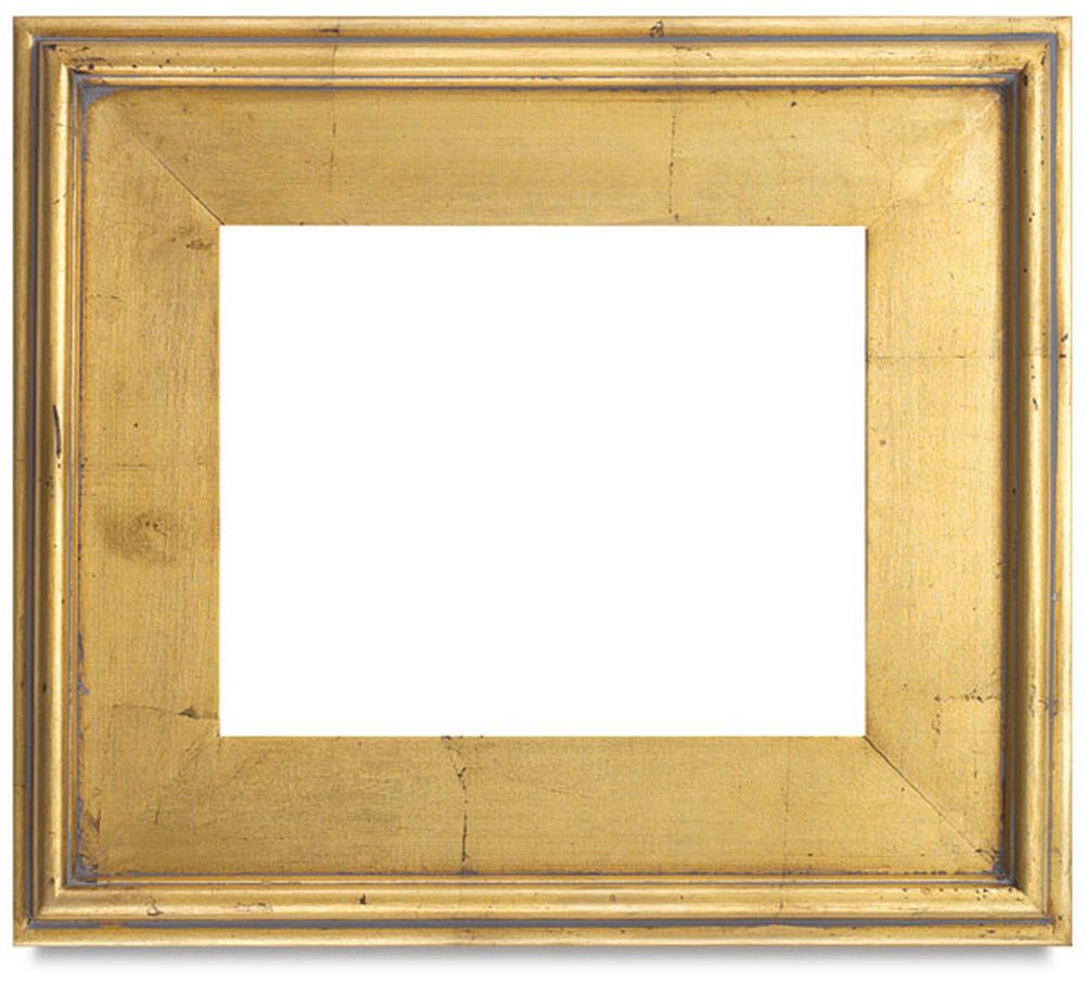 antique plein air museum quality gold leaf wood frame frame size 11 x14 inches artdeco - Museum Frames