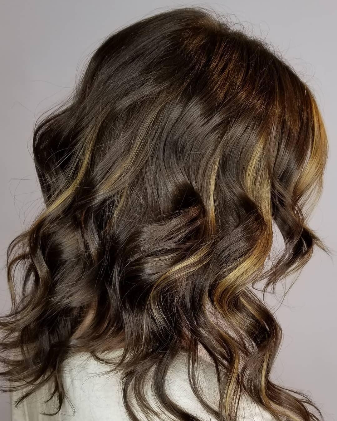 Robot Check Peekaboo Hair Hair Styles Burgundy Hair