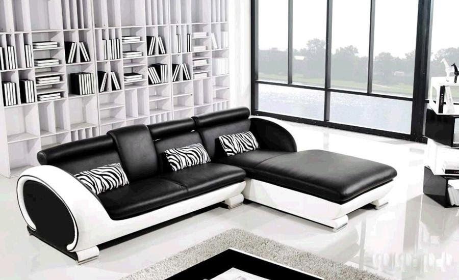 Modern Sofa Design Small L Shaped Sofa Set Settee Corner Leather Sofa Living Room Couc In 2020 Furniture Sofa Set Leather Sofa Living Room Unique Living Room Furniture