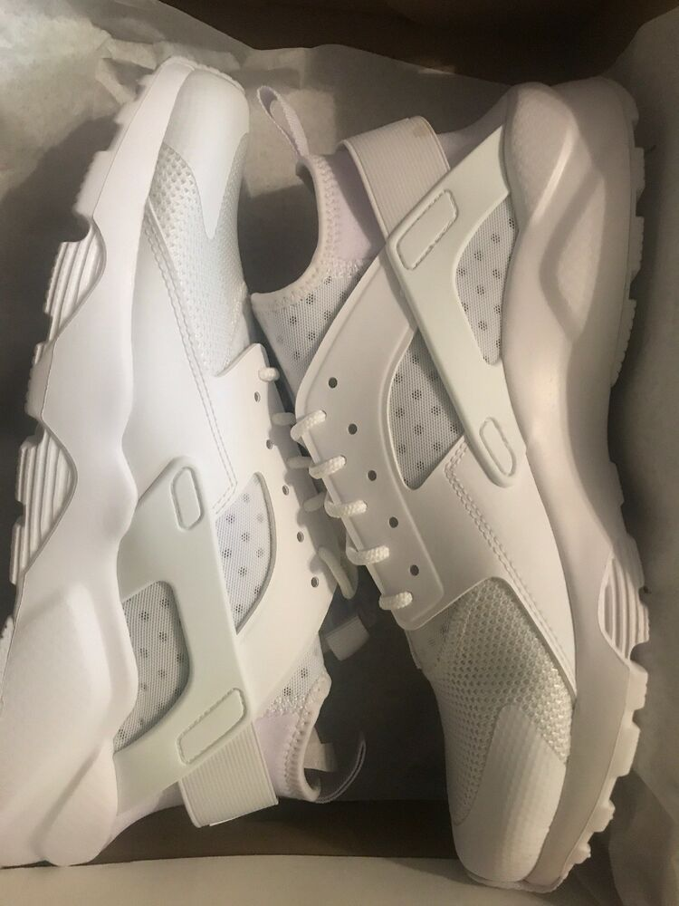 e8cec137213f1 Nike Air Huarache Run Ultra Running Shoes Triple White 819685-101 Men s NEW   fashion  clothing  shoes  accessories  mensshoes  athleticshoes (ebay link)