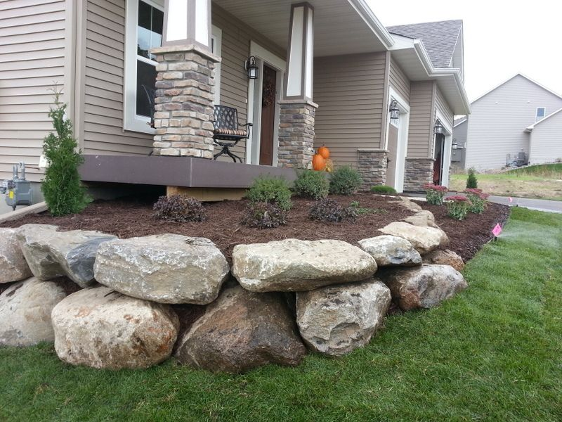 Decorative Boulders For Landscaping : Decorative landscaping rock limestone retaining walls