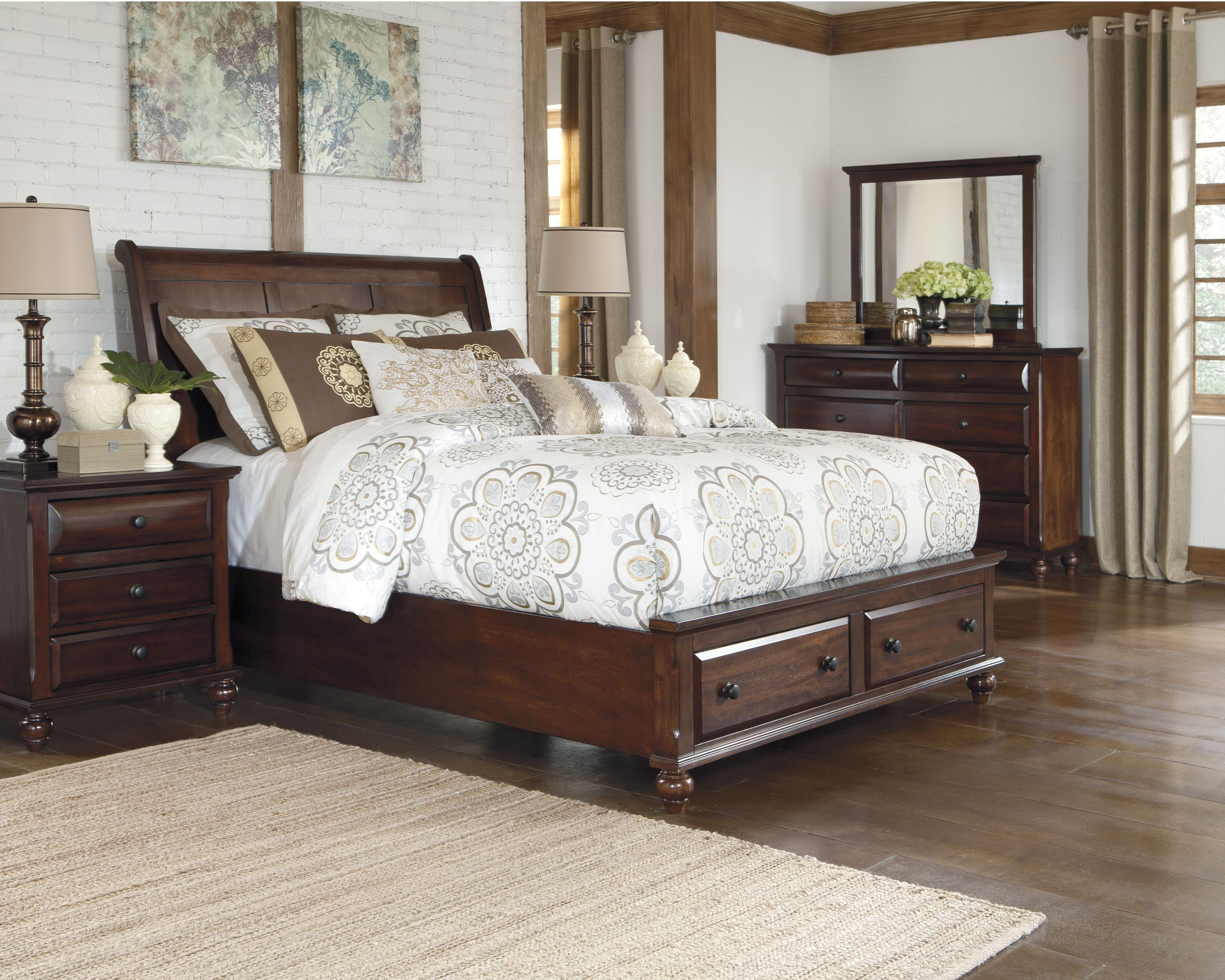 Fancy Bedroom Sets Mesmerizing A Little Extra Storage Space In Our Findler Bedroom Set On Decorating Design
