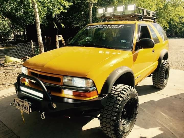 Pin By Micheal Harris On S10 Blazer Chevrolet Blazer Blazer 4x4