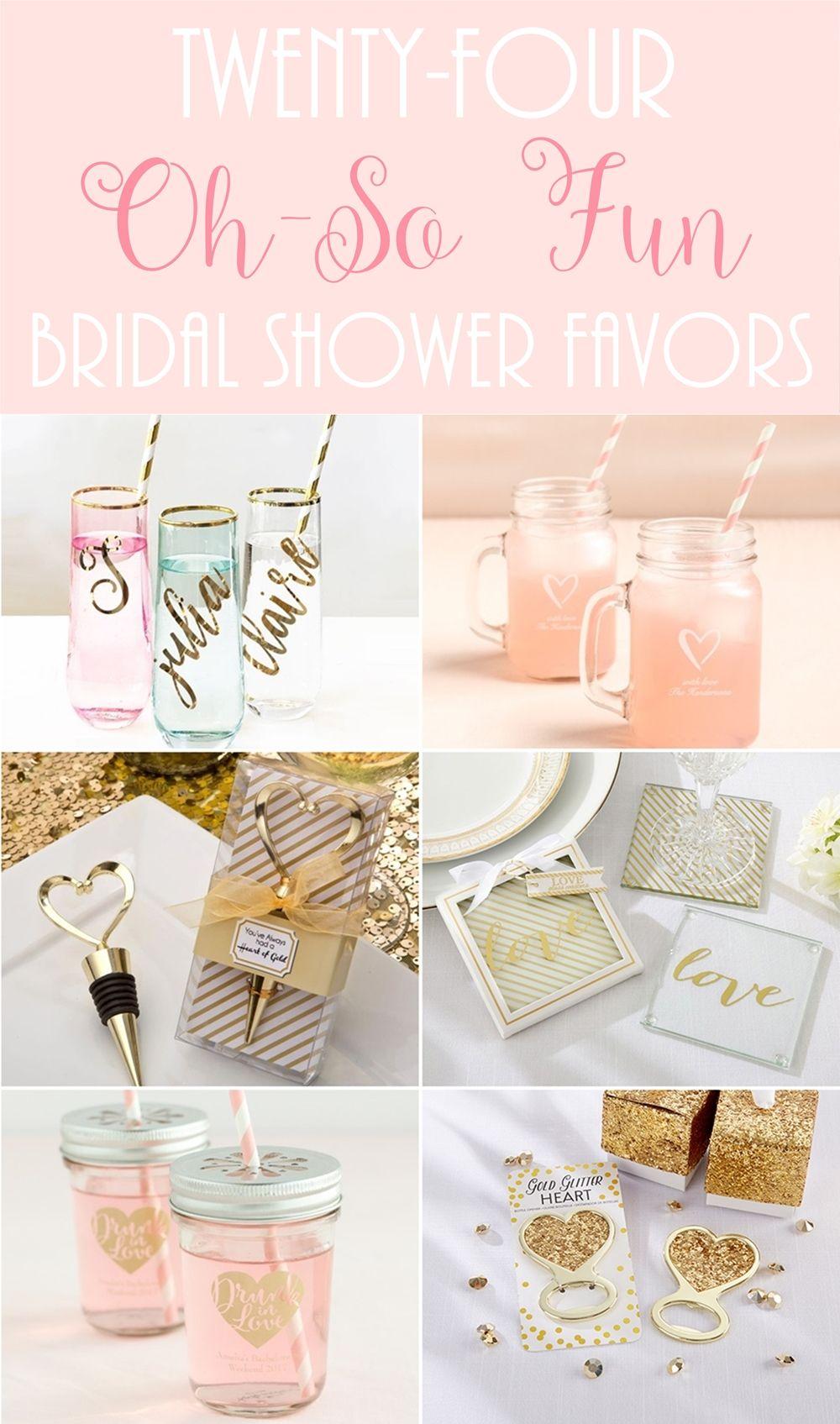 24 Fun Bridal Shower Favors | Set honey, Champagne flutes and Shower ...