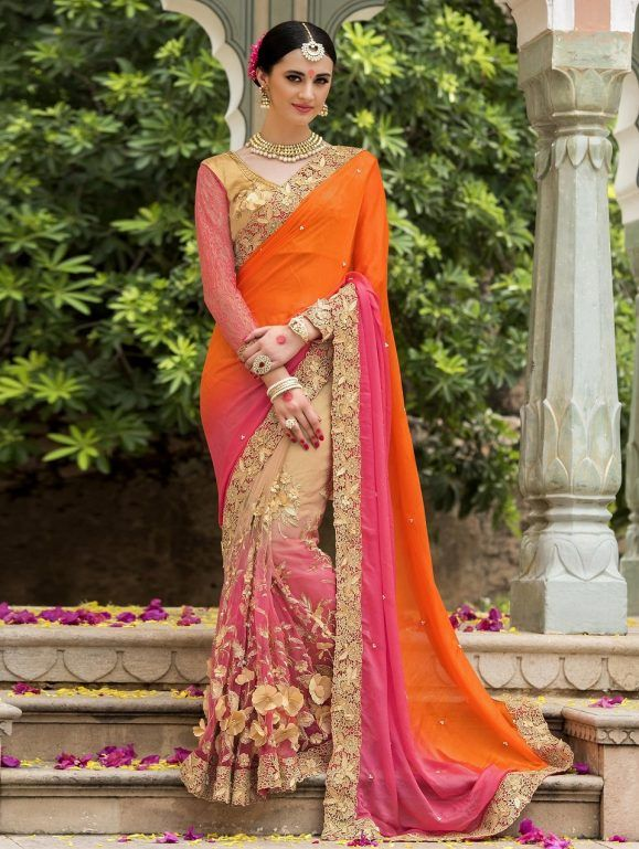 8ee2449c81 Indian Wedding Saree Latest Designs & Trends 2019-2029 Collection ...
