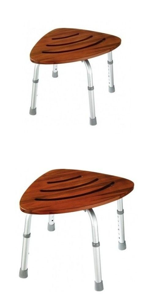 Shower and Bath Seats: Teak Shower Stool Corner Chair Seat Foot ...
