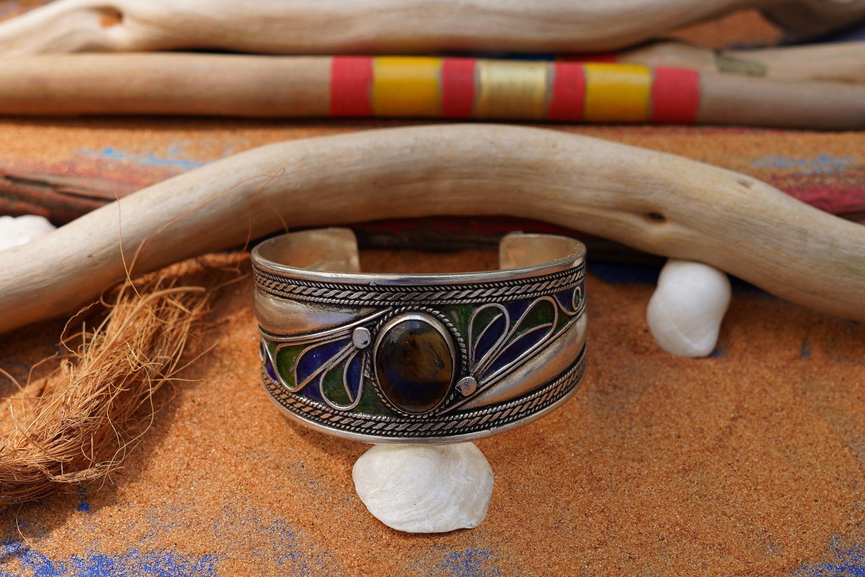 African Tuareg Touareg Berber Hand Made bracelet  Sahara desert Morocco