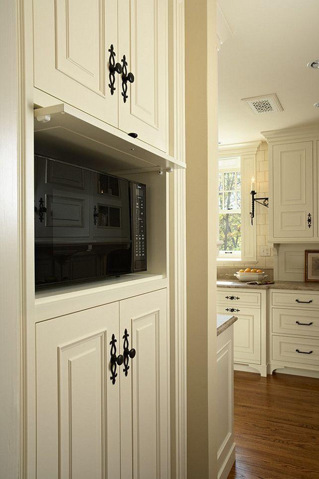 Hidden Microwave Home decor kitchen, Kitchen