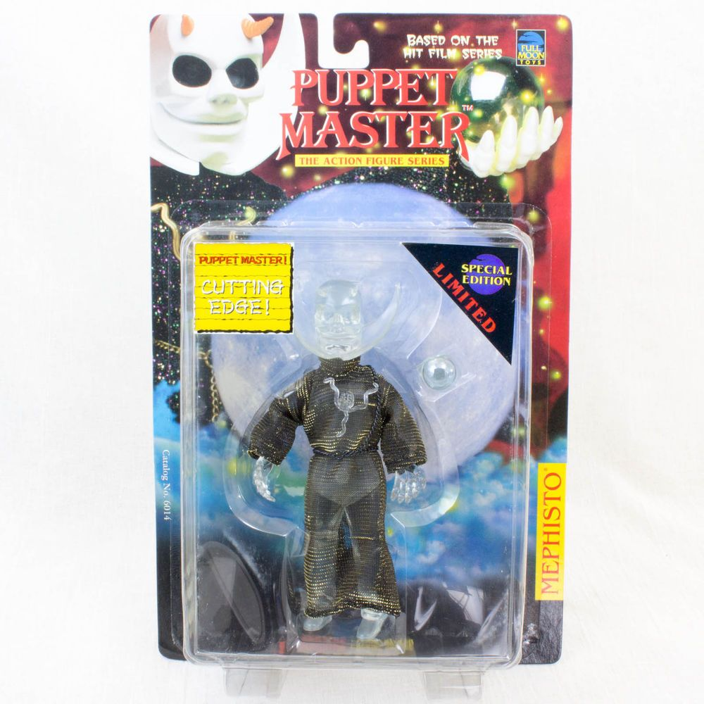 PUPPET MASTER Mephisto Figure Clear Limited Special Edition Full Moon Toys #FullMoonToys