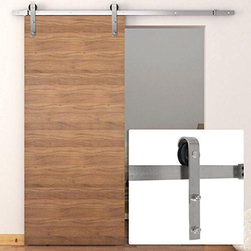 Tms Woodenslidingdoor Hardware Modern Stainless Steel Interior