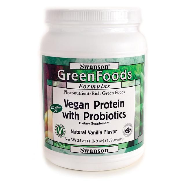 Vegan Protein Powder With Probiotics Vegan Protein Powder Vegan Protein Probiotics