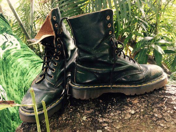 Vintage 80s Dr. Marten boots by JUGSnBONESvintage on Etsy