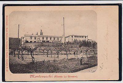 Montevarchi Arezzo Fabbrica Filanda La Ginestra 1902 Bella !