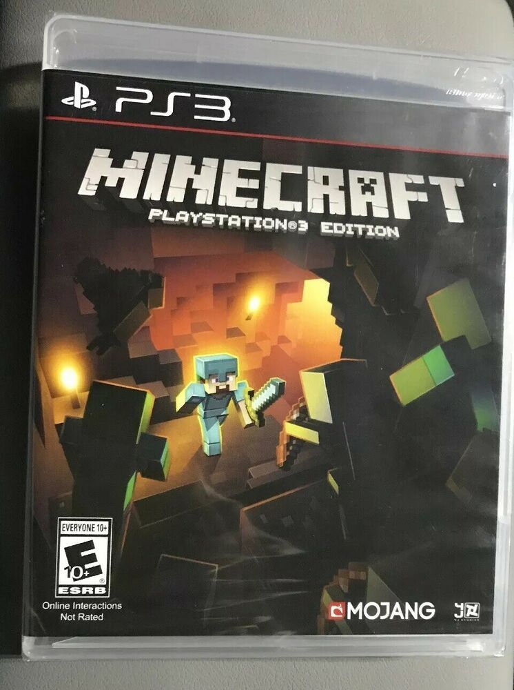 Minecraft Playstation 3 Edition Ps3 Brand New Factory Sealed Free Shipping Minecraft Playing Game With Images Sony Playstation Playstation How To Play Minecraft