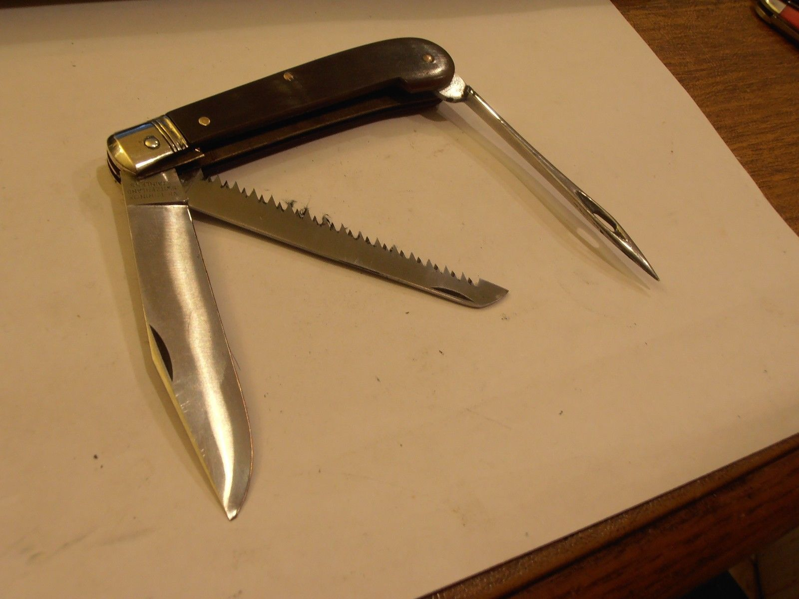 Victorinox Swiss Army Knife Vintage Extremely RARE 100mm 1st Mate Peasant | eBay
