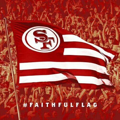 San Francisco 49ers Faithful Flag 3x5