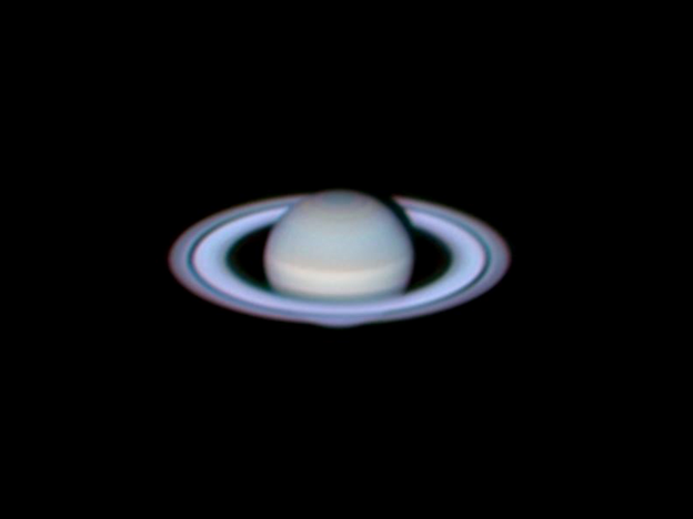 Saturn, by Cherdphong Visarathanonth in Bangkok, Thailand. Taken using an Orion SkyQuest XT8g Computerized GoTo Dobsonian Telescope.