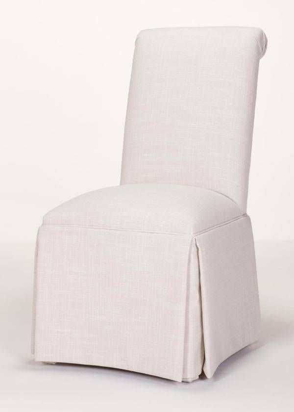 Parsons Chairs With Skirt Plastic Garden And Table Scroll Back Parson Chair Kick Pleat Quick Ship From Carrington Court Direct