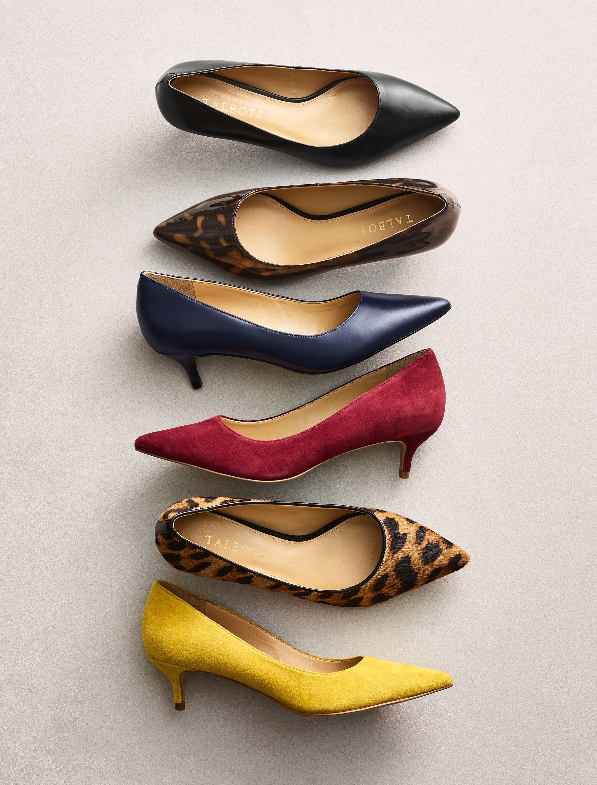 Plush Suede Pumps In Vibrant Hues With A Classic Kitten Heel Fashioned With Cushy Memory Foam Footbeds And Finished Wit Womens Fashion Shoes Pumps Heels Heels