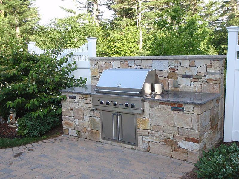 13 Outdoor Kitchen Stone Grill Kitchen Fireplace Outdoor Kitchen Outdoor