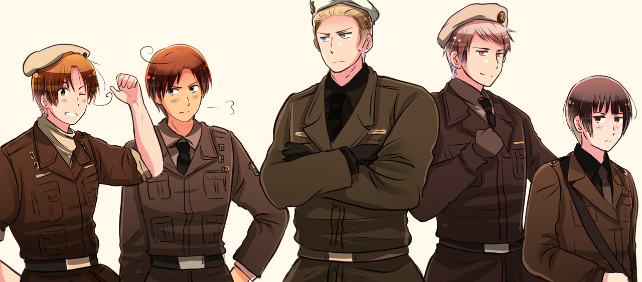 Axis Powers by XXXxVivixXXX on DeviantArt - APH Hetalia