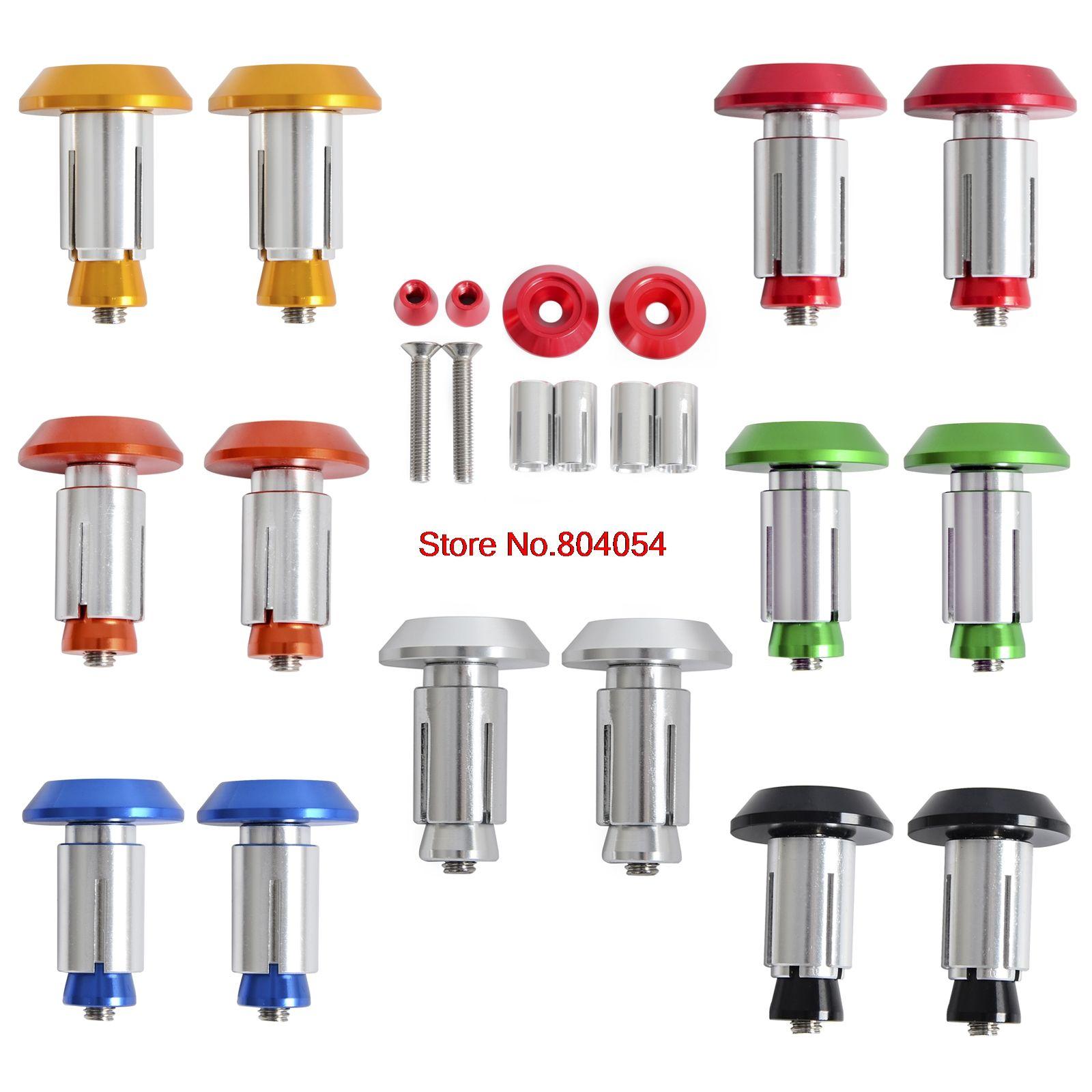 CNC Billet Handlebar Cap Plugs for Suzuki RM65 RM85 RM100