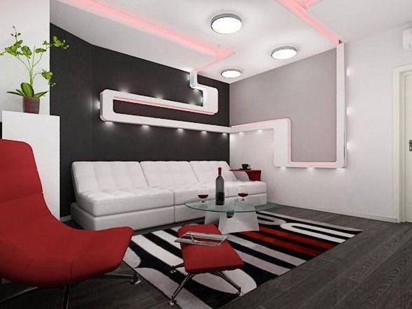Resultado de imagen para decoracion apartaestudios en rojo for Decoracion apartaestudios