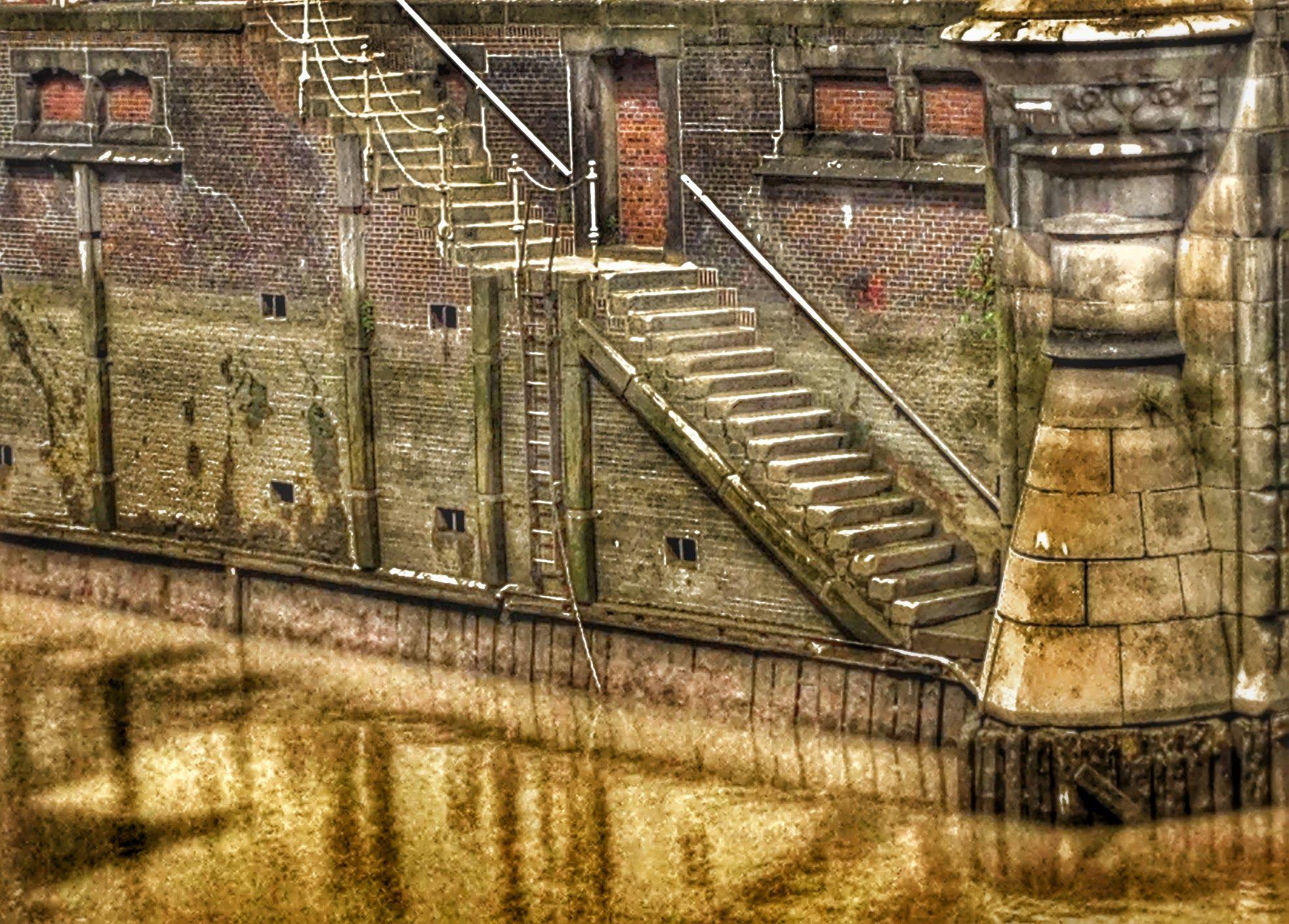 Treppenrenovierung Hamburg treppe speicherstadt hafen hamburg