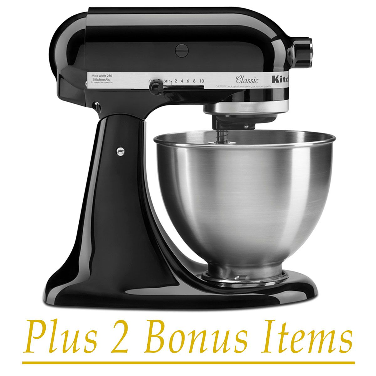 Enter to win a kitchenaid 45quart classic series stand