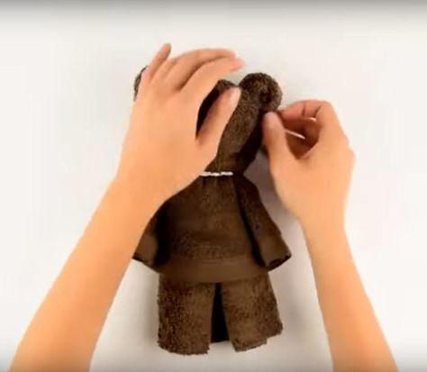 Zrób to z ręcznika. Goście będą zachwyceni | Ręcznik, Zęby