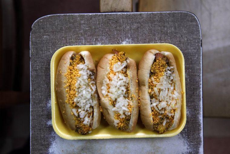 Coney Island hot dogs | Food | Recipe icon, Tulsa food, Hot dogs