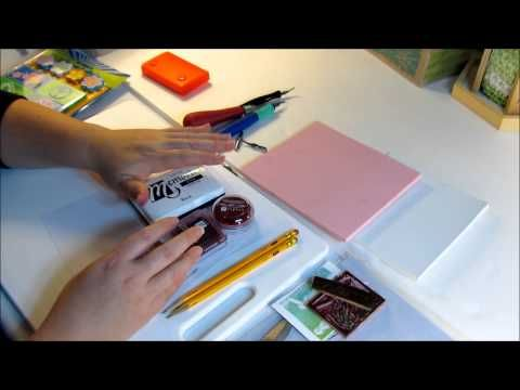 Carve Your Own Stamps! - YouTube