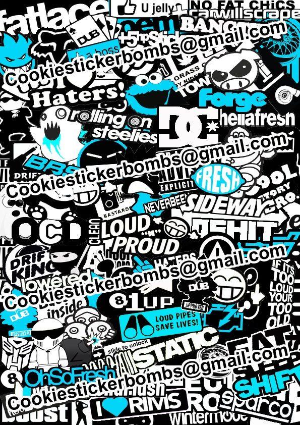 Sticker bombing поиск в google