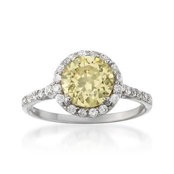 Not usually a big fan of yellow, but I love this ring.